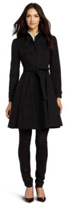 Robert Rodriguez Women's Fit And Flare Trench Coat