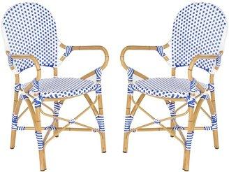 Safavieh 2-pc. Hooper Stackable Chair Set - Indoor & Outdoor