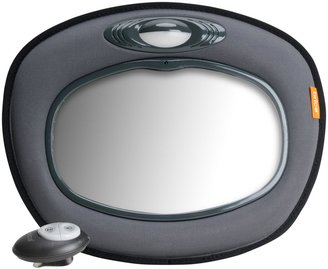 Brica Day and Night Light Musical Auto Mirror - Gray - One Size
