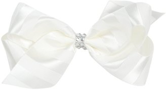Wee Ones Satin Stripe Bow