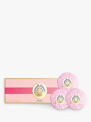 Roger & Gallet Rose Perfumed Soap Gift Set, 3 x 100g