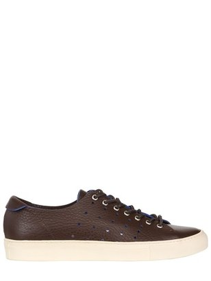 Buttero Perforated Leather Sneakers