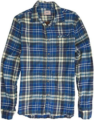 Scotch & Soda Blue Check Ls Shirt