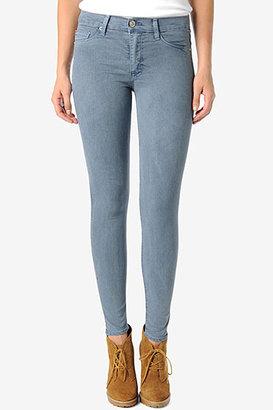 Hudson Jeans Nico Mid-Rise Super Skinny- Cornflower Blue