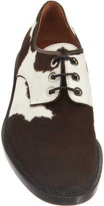 Givenchy Bicolor Ponyhair Oxford