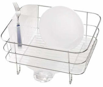 Simplehuman Compact Wire Frame Dish Rack in Stainless Steel