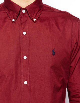 Polo Ralph Lauren Check Shirt in Slim Fit