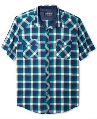 American Rag Shirt, Buffalo Plaid Short Sleeve Shirt