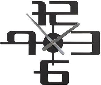 "Umbra [h1 Big Time 18"" Clock Black-Black[/h1]"