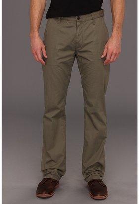 John Varvatos Slim Fit Flap Pocket Pant (Dark Ghurka) - Apparel