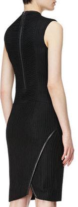 Helmut Lang Trance Framed Knit Dress