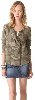 April May April, may Cami Camouflage Jacket