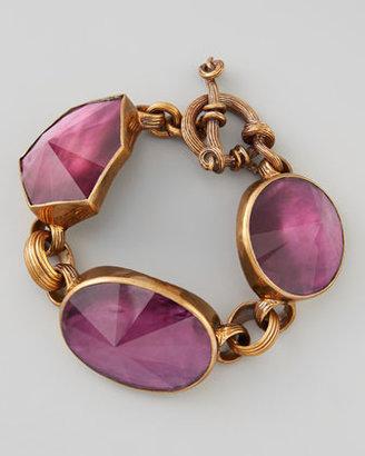 Stephen Dweck Galactic Rock Crystal Bracelet, Purple