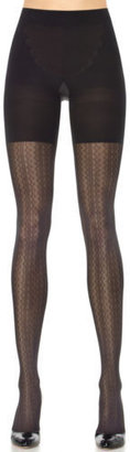 Spanx Assets by Assets By Spanx, Women's Shapewear, Patterned Tights Vertical Zigzag 2054