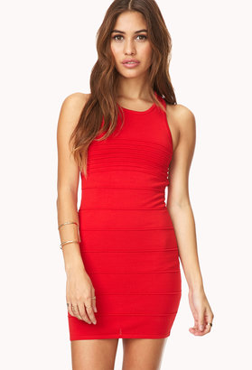 Forever 21 Bold Bodycon Dress