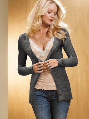 Victoria's Secret Angel Bouclé Cardigan Sweater