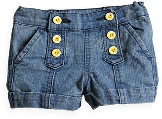 Pumpkin Patch Denim Button Front Shorts
