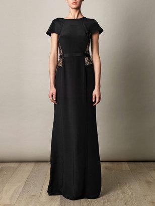Jason Wu Capelet lace-insert dress