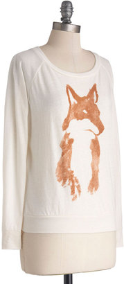 Kin Ship Fox Checker Tee