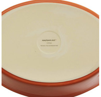Rachael Ray 9x5-in. Stoneware Loaf Pan, Orange