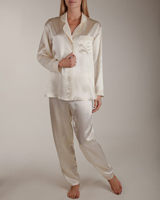 Patricia Fieldwalker Petal Collar Long Sleeve Pajama