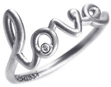 Avanessi White Gold Love Ring