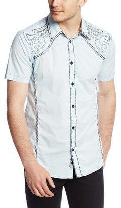 Roar Men's Symmetry Junior Short Sleeve Woven