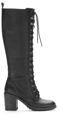 Nine West Valory Lace-Up Boots