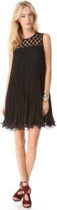 Milly Carolyn Pleated Dress