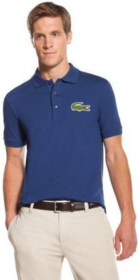 Lacoste Big Short Sleeve Oversized Crocodile Pique Polo