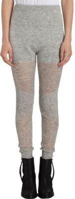 Maison Martin Margiela Crochet Inset Legging