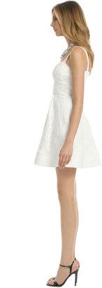 Z Spoke Zac Posen White As Snow Dress