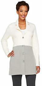 Liz Claiborne New York Color-Block Sweater Coat $77.50 thestylecure.com