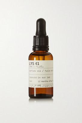 Le Labo Lys 41 Perfume Oil