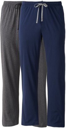 Hanes Men's 2-pk. Solid Sleep Pants