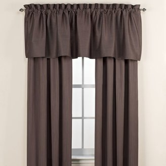 Bed Bath & Beyond Emerson Window Treatment Set in Charcoal