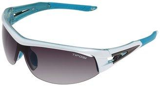 Tifosi Optics Altar Interchangeable (Gloss White & Teal/Smoke Gradient/AC Red/Clear Lens) - Eyewear