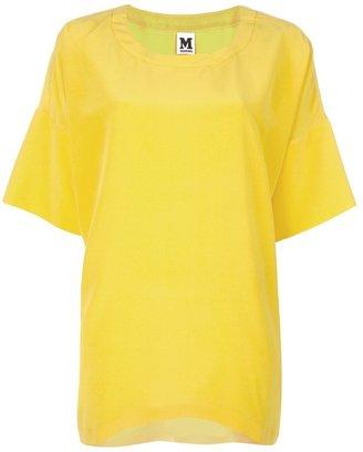 M Missoni oversized silk blouse