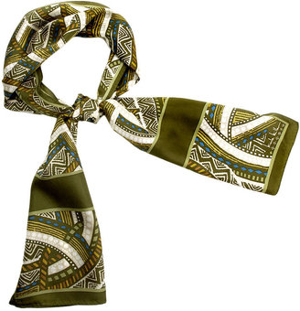 Nicole Miller African Oblong Scarf
