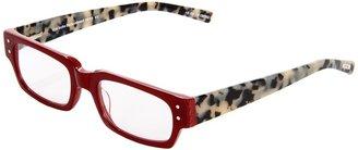 Eyebobs Peckerhead Readers (Red/Black/White Tortoise) - Eyewear