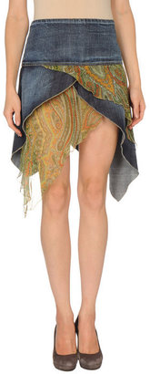 S.O.S By Orza Studio Denim skirt