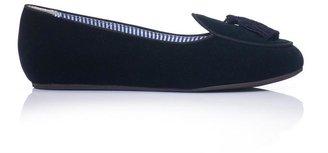 Charles Philip Shanghai Olimpia velvet slippers