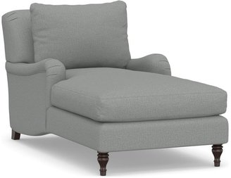 Pottery Barn Carlisle Upholstered Chaise Lounge