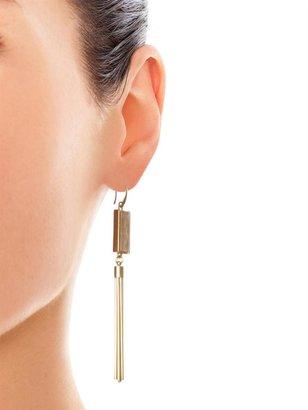 Isabel Marant Times Square rose-quartz earrings