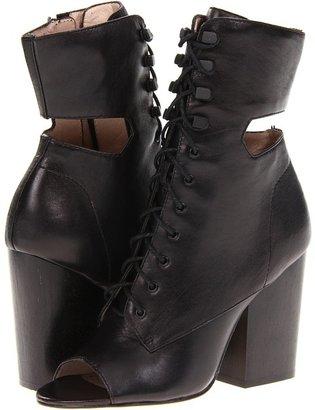Elizabeth and James Cindy (Black Leather) - Footwear