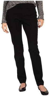 NYDJ Claire Pull-On Legging in Black (Black) - Apparel