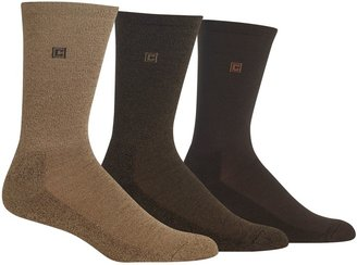 Chaps Men's 3-pk. Cushioned-Sole Ribbed Socks