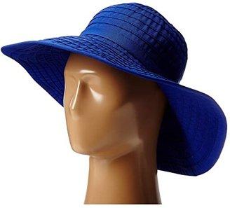 San Diego Hat Company RBL299 Large Brim Ribbon Floppy (Royal) Traditional Hats