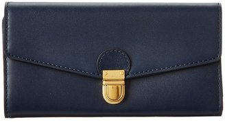 Marc by Marc Jacobs Top Chicret Colorblocked New Long Trifold (Deep Sea Navy) - Bags and Luggage
