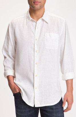 Tommy Bahama 'Beachy Breezer' Linen Sport Shirt (Big & Tall)